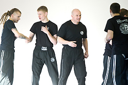 The Institute of Krav Maga Scotland welcomed International Krav Maga Federation Expert Level 2 instructor, Joe Ambrosino, to conduct a Krav Maga Seminar at the Scottish Police College, Tulliallan..©2008 Michael Schofield. All Rights Reserved.