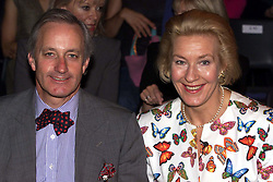 Neil and Christine Hamilton at the Ronit Zilkha show at London Fashion Week, September 27, 2000..Photo by Andrew Parsons/i-Images..