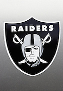 OAKLAND, CA - AUGUST 20:  An Oakland Raiders sticker on a car door prior to the Raiders game against the San Francisco 49ers at McAfee Coliseum on August 20, 2006 in Oakland, California. The Raiders defeated the Niners 23-7. ©Paul Anthony Spinelli