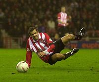 Photo. Glyn Thomas.<br /> Sunderland v Birmingham. FA Cup fifth round.<br /> Stadium of Light, Sunderland. 14/02/2004.<br /> Sunderland's Julio Arca had an outstanding game.