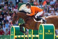 Jeroen Dubbeldam, (NED), Zenith SFN - Show Jumping Final Four - Alltech FEI World Equestrian Games™ 2014 - Normandy, France.<br /> © Hippo Foto Team - Jon Stroud<br /> 07-09-14