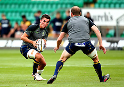 Nick David of Worcester Warriors - Mandatory by-line: Robbie Stephenson/JMP - 29/07/2017 - RUGBY - Franklin's Gardens - Northampton, England - Worcester Warriors v Newcastle Falcons - Singha Premiership Rugby 7s