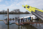 Hammersmith. London. United Kingdom,  Hammersmith. London.  General View crews boating from Furnivall SC, 2018 Men's Head of the River Race.  Championship Course, River Thames, 2018 Men's Head of the River Race. , Championship Course, Putney to Mortlake. River Thames, <br /> <br /> Sunday   11/03/2018<br /> <br /> [Mandatory Credit:Peter SPURRIER Intersport Images]<br /> <br /> LEICA CAMERA AG  LEICA Q (Typ 116)  1/400 sec. 28 mm f.8 200 ISO.  42.5MB