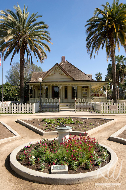 Dr. George C. Clark 1894 Home and Office, Fullerton Arboretum, California