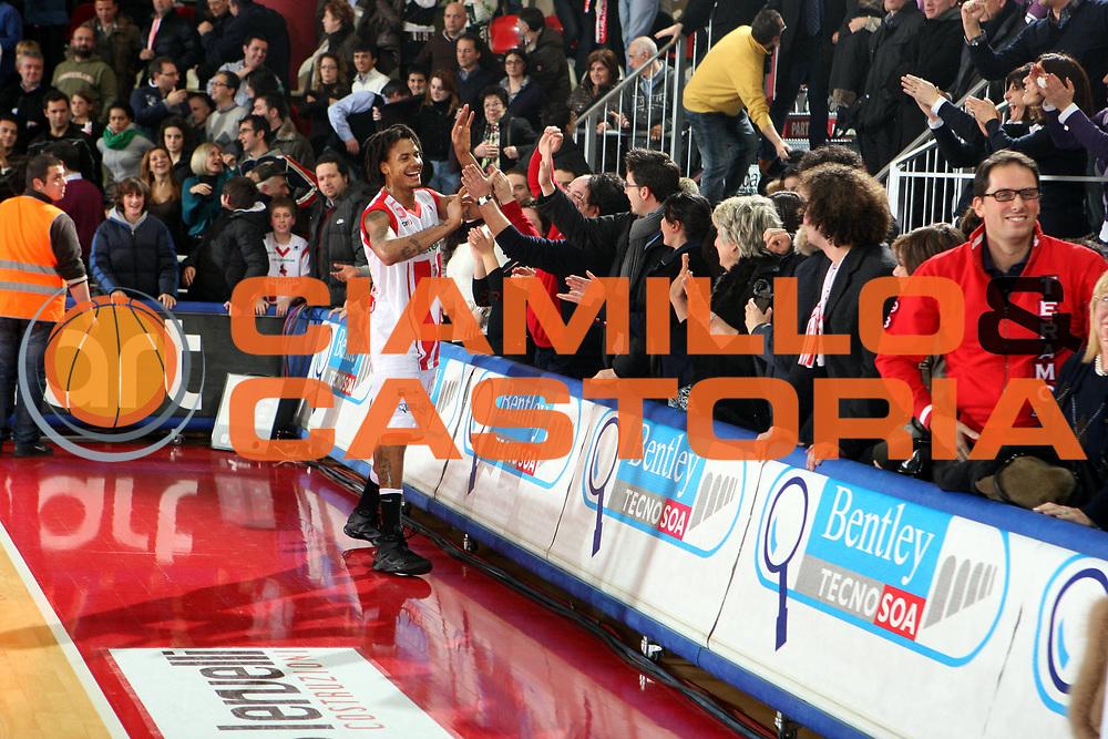 DESCRIZIONE : Teramo Lega A1 2008-09 Bancatercas Teramo Angelico Biella<br />GIOCATORE : David Moss<br />SQUADRA : Bancatercas Teramo <br />EVENTO : Campionato Lega A1 2008-2009<br />GARA : Bancatercas Teramo Angelico Biella<br />DATA : 31/01/2009<br />CATEGORIA : Esultanza<br />SPORT : Pallacanestro<br />AUTORE : Agenzia Ciamillo-Castoria/G.Ciamillo