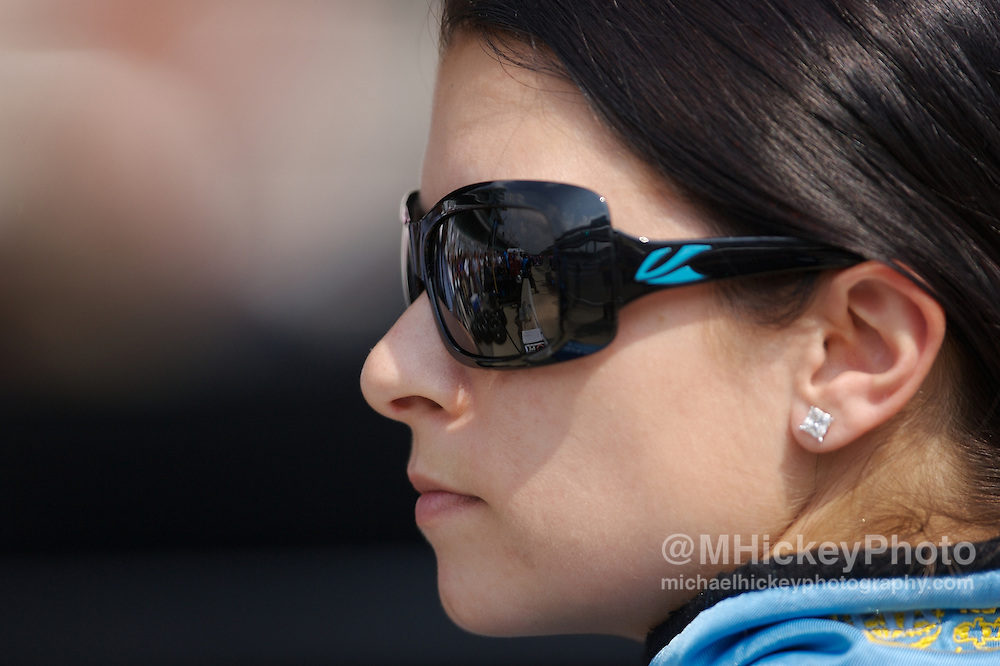 Danica Patrick seen in her pits during practice for the Indy 500 on May 9, 2007 in Speedway, Indiana. Photo by Michael Hickey
