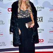Victoria Brown arrive at Float Like A Butterfly Ball for Caudwell Children Charity at Grosvenor House Hotel on 16 November 2019, London, UK.