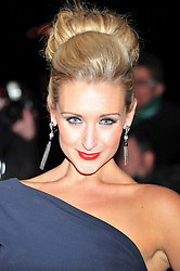© Licensed to London News Pictures. 19/12/2011. London, England. Catherine Tyldesley attends a Night Of Heros , the Sun Military Awards 2011 held on Monday 19th Dec at the Imperial War Museum London . the awards will be televised on Wed 21st December 2011 .  Photo credit : ALAN ROXBOROUGH/LNP
