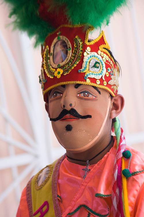 """Annual Festival of """"El Senor de las Soledad,"""" Huaraz, Peru, South America"""