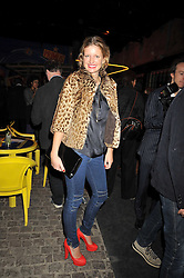 LAINEY SHERIDAN-YOUNG at the Prada Congo Art Party hosted by Miuccia Prada and Larry Gagosian at The Double Club, 7 Torrens Street, London EC1 on 10th February 2009.