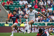 "Twickenham, Surrey United Kingdom. Canadian. Justin DOUGLAS, during the Pool C match, Canada vs Japan at the  ""2017 HSBC London Rugby Sevens"",  Saturday 20/05/2017 RFU. Twickenham Stadium, England    <br /> <br /> [Mandatory Credit Peter SPURRIER/Intersport Images]"