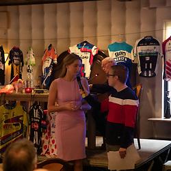 OOTMARSUM (NED) wielrennen<br /> Wielercafe in het Dorp van de Ronde Ootmarsum