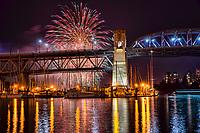 Celebration of Light 2017, Burrard Bridge, Vancouver