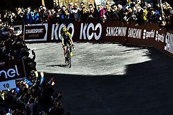 March 9, 2019 - Siena, Italia - Gian Mattia D'Alberto / lapresse.09-03-2019 Siena.Sport.Gara ciclistica Strade Bianche 2019 .nella foto: Annemiek van Vleuten NED ha vinto la Strade Bianche Women Elite..Gian Mattia D'Alberto  / lapresse.2019-03-09 Siena.Strade Bianche 2019 .in the photo: Annemiek van Vleuten. (Credit Image: © Gian Mattia D'Alberto/Lapresse via ZUMA Press)