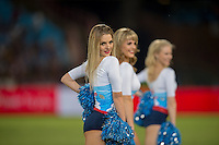 LOFTUS VERSVELD , SOUTH AFRICA - February 14: Bulls Babes during the Vodacom Super Rugby match between the Bulls and the Stormers played at Loftus Versveld, Pretoria, South Africa. (Photo by Anton Geyser/ Rugby 15)