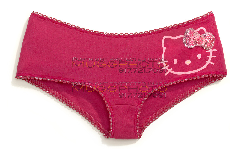 hello kitty hot pink cotton bikini underwear