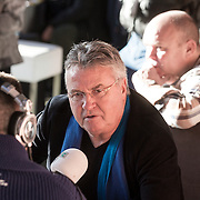 NLD/Hilversum/20131130 - Start Radio 2000, dj's top2000, Guus Hiddink