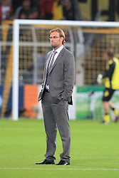 13.09.2011, Signal Iduna Park, Dortmund, GER, UEFA CL, Gruppe F, Borussia Dortmund (GER) vs Arsenal London (ENG), im Bild.Jürgen Klopp (Trainer Dortmund) im Anzug..// during the UEFA CL, group F, Borussia Dortmund (GER) vs Arsenal London on 2011/09/13, at Signal Iduna Park, Dortmund, Germany. EXPA Pictures © 2011, PhotoCredit: EXPA/ nph/  Mueller       ****** out of GER / CRO  / BEL ******