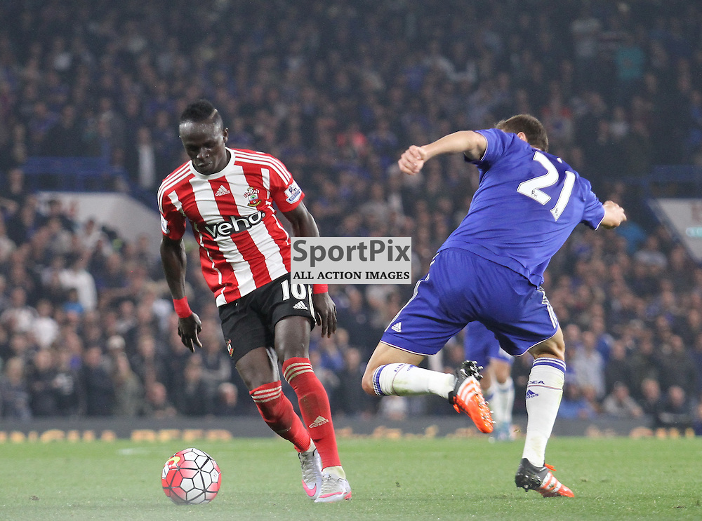 Sadio Mane in action against Chelsea