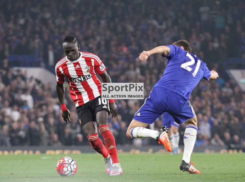 Sadio Mane in action against Chelsea