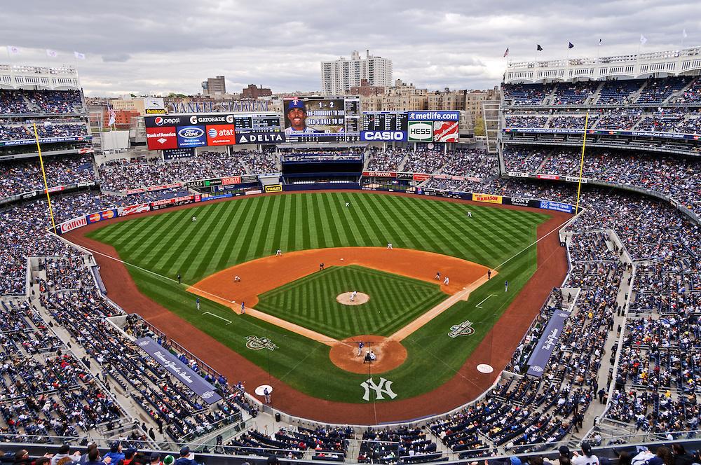New Yankee Stadium, designed by Populos, New York Yankees, Bronx, New York