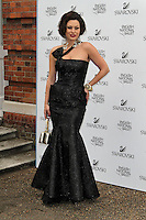 LONDON - JUNE 27: Immodesty Blaize attended the English National Ballet Summer Party, The Orangery, Kensington Palace, London, UK, June 27, 2012.(Photo by Richard Goldschmidt)