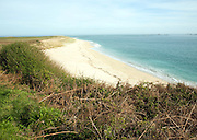 Shell beach Island of Herm,Channel Islands, Great Britain