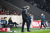 Deception Laurent BLANC - 03.12.2014 - Lille / Paris Saint Germain - 16eme journee de Ligue 1 -<br />
