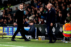 Derby County manager Gary Rowett and Queens Park Rangers manager Ian Holloway - Mandatory by-line: Robbie Stephenson/JMP - 31/03/2017 - FOOTBALL - iPro Stadium - Derby, England - Derby County v Queens Park Rangers - Sky Bet Championship