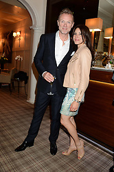 GARY & LAUREN KEMP at the Blue Monday Cheese Launch presented by Alex James and held at The Cadogan Hotel, Sloane street, London on 11th June 2013.