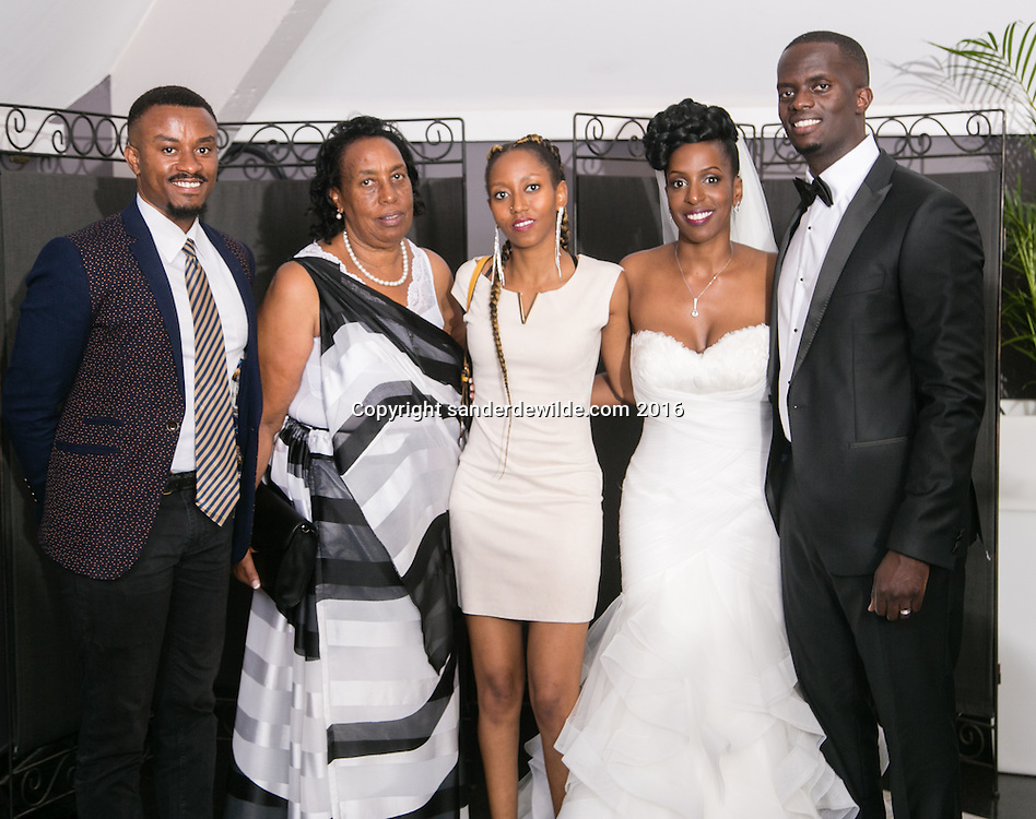 Genval, Belgium 25  Juin 2016 Marriage de Gisèle Kantengwa and Davis Gasangwa at Genval, Belgium