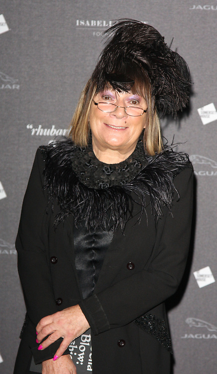 Hilary Alexander arriving at the opening of the  Isabella Blow at the Isabella Blow exhibition at Somerset House in London, Tuesday, 19th November 2013   Photo by: i-Images