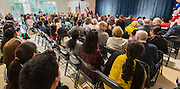 Former governor Mark White comments during a dedication ceremony at Mark White Elementary School, December 13, 2016.