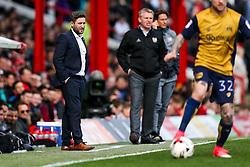 Bristol City manager Lee Johnson looks on - Rogan Thomson/JMP - 01/04/2017 - FOOTBALL - Griffin Park - Brentford, England - Brentford v Bristol City - Sky Bet EFL Championship.
