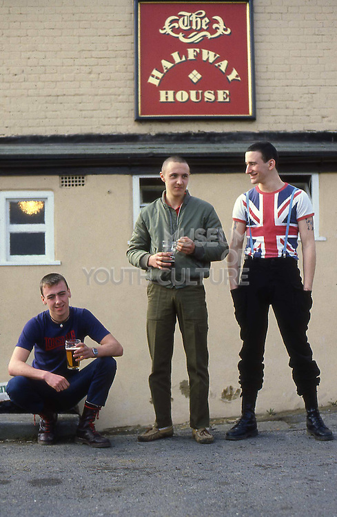 Symond, Shawn and Gavin at Halfway House, High Wycombe, UK, 1980s.