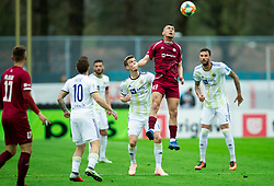 David Tijanić of Triglav during Football match between NK Triglav and NK Maribor in 25th Round of Prva liga Telekom Slovenije 2018/19, on April 6, 2019, in Sports centre Kranj, Slovenia. Photo by Vid Ponikvar / Sportida