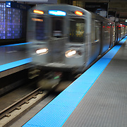 CTA Train speeds by in Chicago, IL.<br /> <br /> The nation's second largest public transportation system provides rail, bus, and other transportation information for travel around Chicago.
