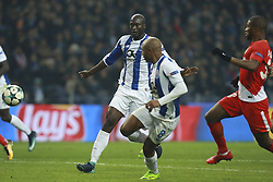 December 6, 2017 - Na - Porto, 06/12/2017 - Football Club of Porto received, this evening, AS Monaco FC in the match of the 6th Match of Group G, Champions League 2017/18, in Estádio do Dragão. Danilo Pereira unlocks Brahimi  (Credit Image: © Atlantico Press via ZUMA Wire)