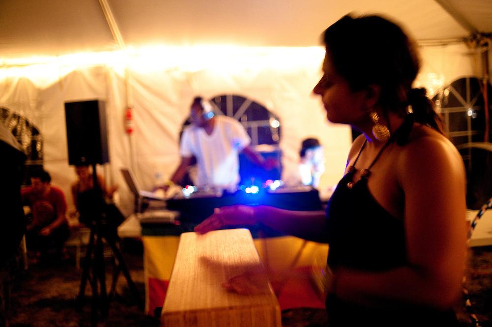 Kiran on the beat
