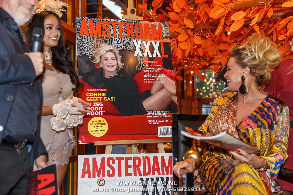 NLD/Amsterdam/20180925 - Presentatie nr.8 magazine XXXL, Mark teurlings en Conny van Gun - Witteman