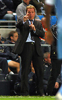 Photo: Paul Thomas.<br /> Manchester City v Portsmouth. The Barclays Premiership. 23/08/2006.<br /> <br /> Harry Redknapp, Portsmouth manager.
