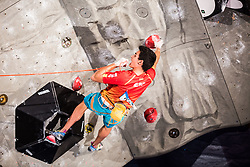 GINES LOPEZ Alberto of Spain during Finals IFSC World Cup Competition in sport climbing Kranj 2019, on September 29, 2019 in Arena Zlato polje, Kranj, Slovenia. Photo by Peter Podobnik / Sportida