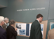 15005Marion Parson Alden Gallery Dedication at Grover 9/21/01