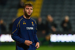 Tom Dodd of Worcester Warriors during the pre match warm up - Mandatory by-line: Craig Thomas/JMP - 03/11/2017 - RUGBY - Sixways Stadium - Worcester, England - Worcester Warriors v Sale Sharks - Anglo Welsh Cup