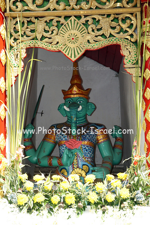 Hindu God Ganesh in Wat Phrathat Doi Suthep temple, Chiang Mai,Thailand,