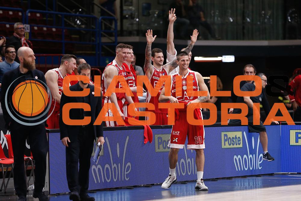 EA7 Emporio Armani Milano<br /> EA7 Olimpia Milano - The Flexx Pistoia<br /> Legabasket Serie A 2017/18<br /> Milano, 06/05/2018<br /> Foto MarcoBrondi / Ciamillo-Castoria