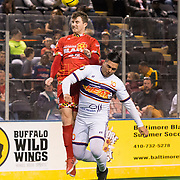 The Harrisburg Heat defeat the Baltimore Blast, 5-4