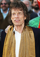 Mick Jagger, The Rolling Stones Exhibitionism - Opening Night Gala, Saatchi Gallery, London UK, 04 April 2016, Photo by Brett D. Cove