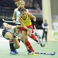 Germany v Spain women EuroNationsIndoor