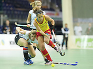 Germany v Spain women EuroNationsIndoor